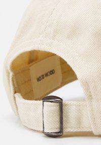 Wood Wood - LOW PROFILE UNISEX - Cap - off white - 3