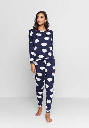 TANYA  SET  - Pyjamas - dark blue