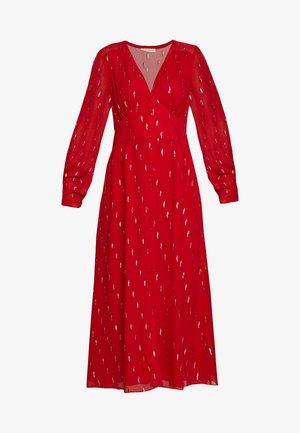 DRESS - Freizeitkleid - ruby foil
