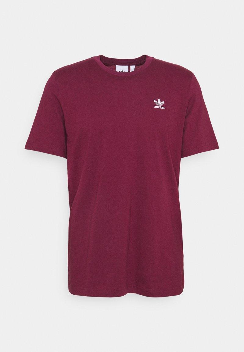 adidas Originals - ESSENTIAL TEE - T-shirt - bas - victory crimson