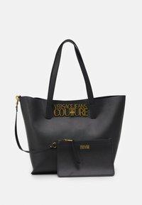Versace Jeans Couture - LOGOLOCK BAG SET - Handbag - nero - 5