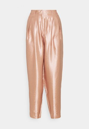 REA SHINE TROUSERS - Bukse - rosé