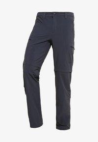 EXPLORATION CONVERTIBLE PANT - Outdoorové kalhoty - asphalt grey