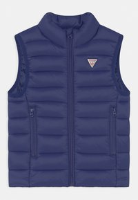 Guess - TODDLER PADDED CORE UNISEX - Bodywarmer - blue - 0
