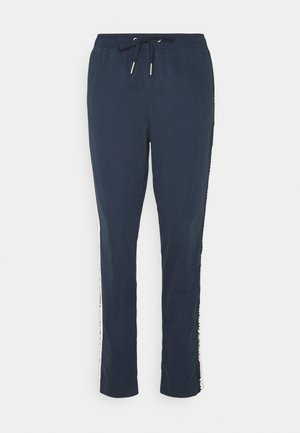 SIDE STRIPE PANT - Bukse - twilight navy