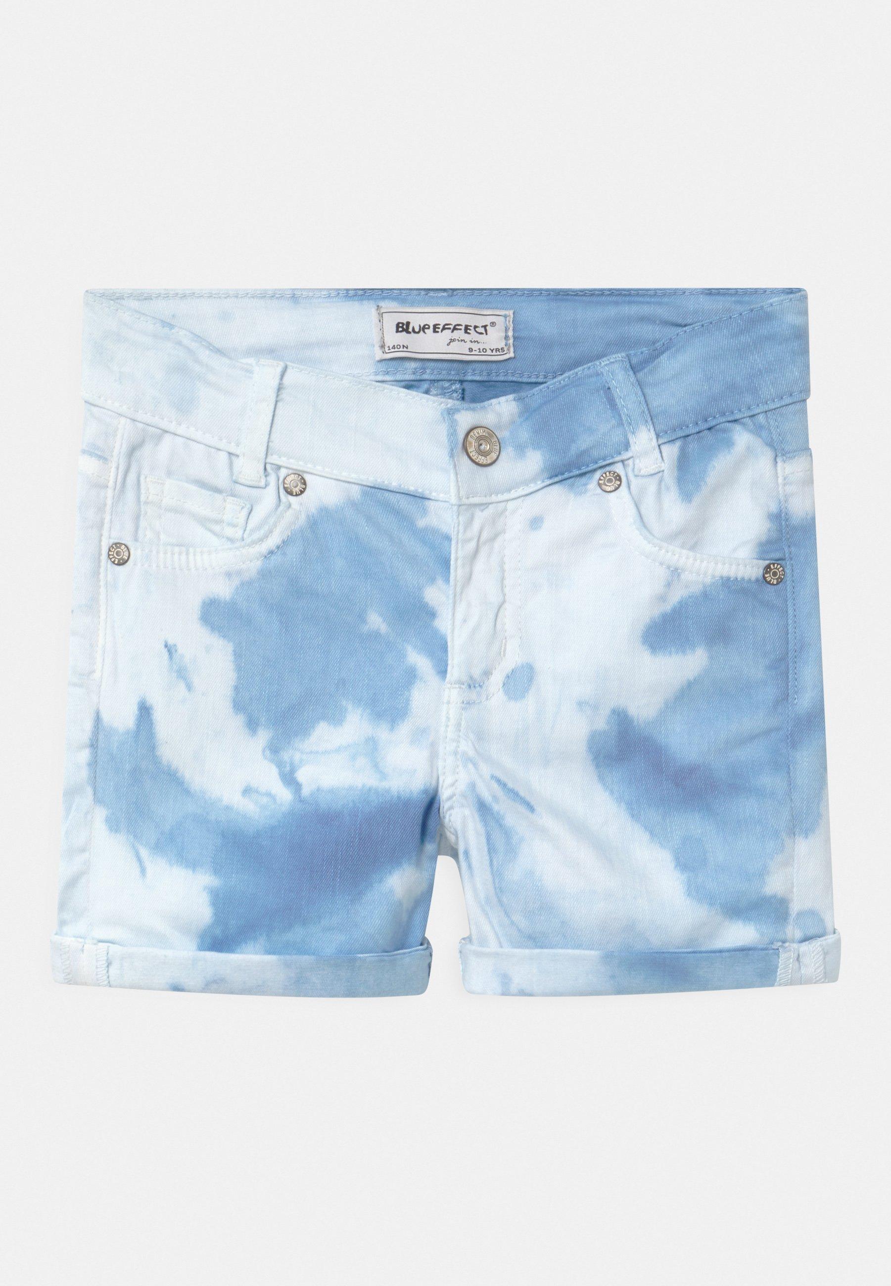 Kinder GIRLS - Jeans Shorts - blau