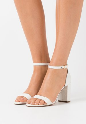 MADAM - High heeled sandals - white