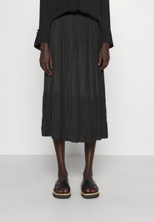 PRICKLY CIRA SKIRT - Pleated skirt - black