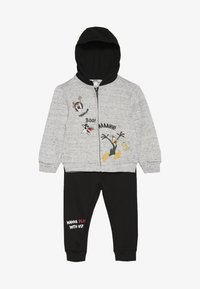 OVS - BABY LOONEY TUNES ZIP SET - Huvtröja med dragkedja - gray dawn - 3
