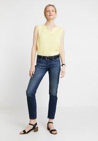 edc by Esprit - Slim fit jeans - blue dark wash - 1