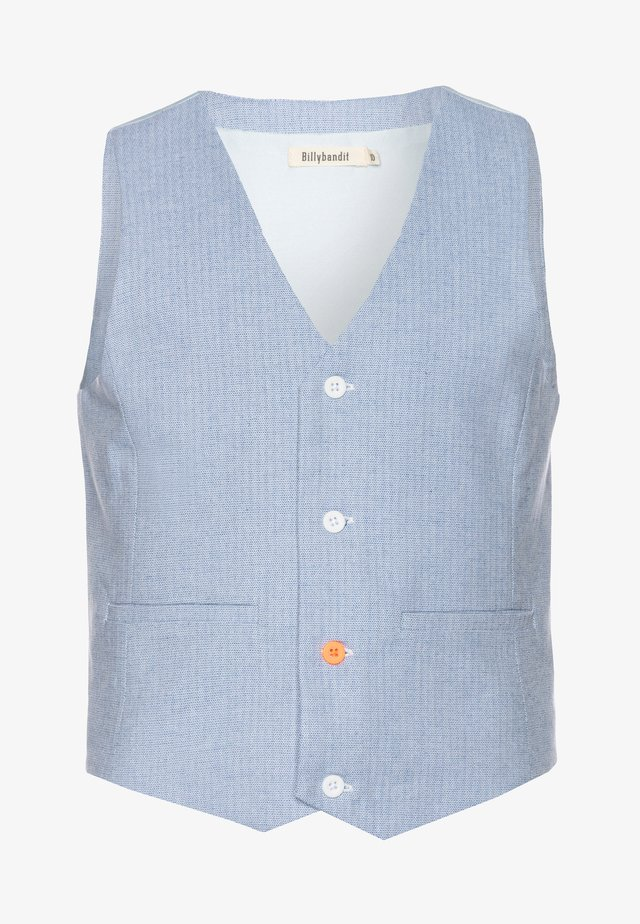 WAISTCOAT - Waistcoat - blue/white