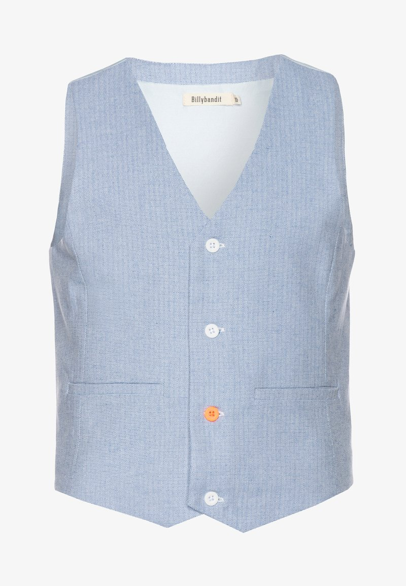 Billybandit - WAISTCOAT - Waistcoat - blue/white