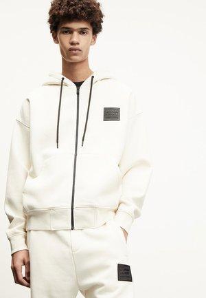 veste en sweat zippée - off-white