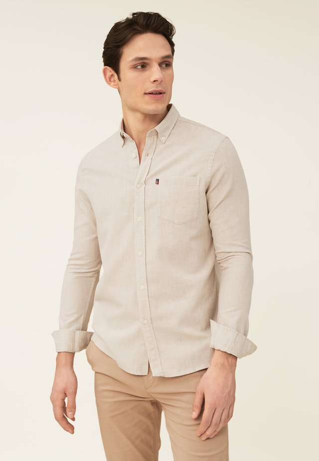 Shirt - light beige melange