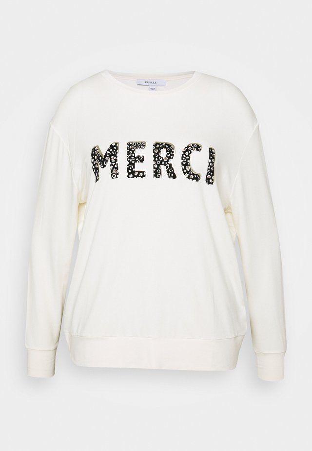 MERCI - Sweater - ivory