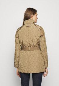 Lauren Ralph Lauren - JACKET BELT - Winter coat - sand - 6