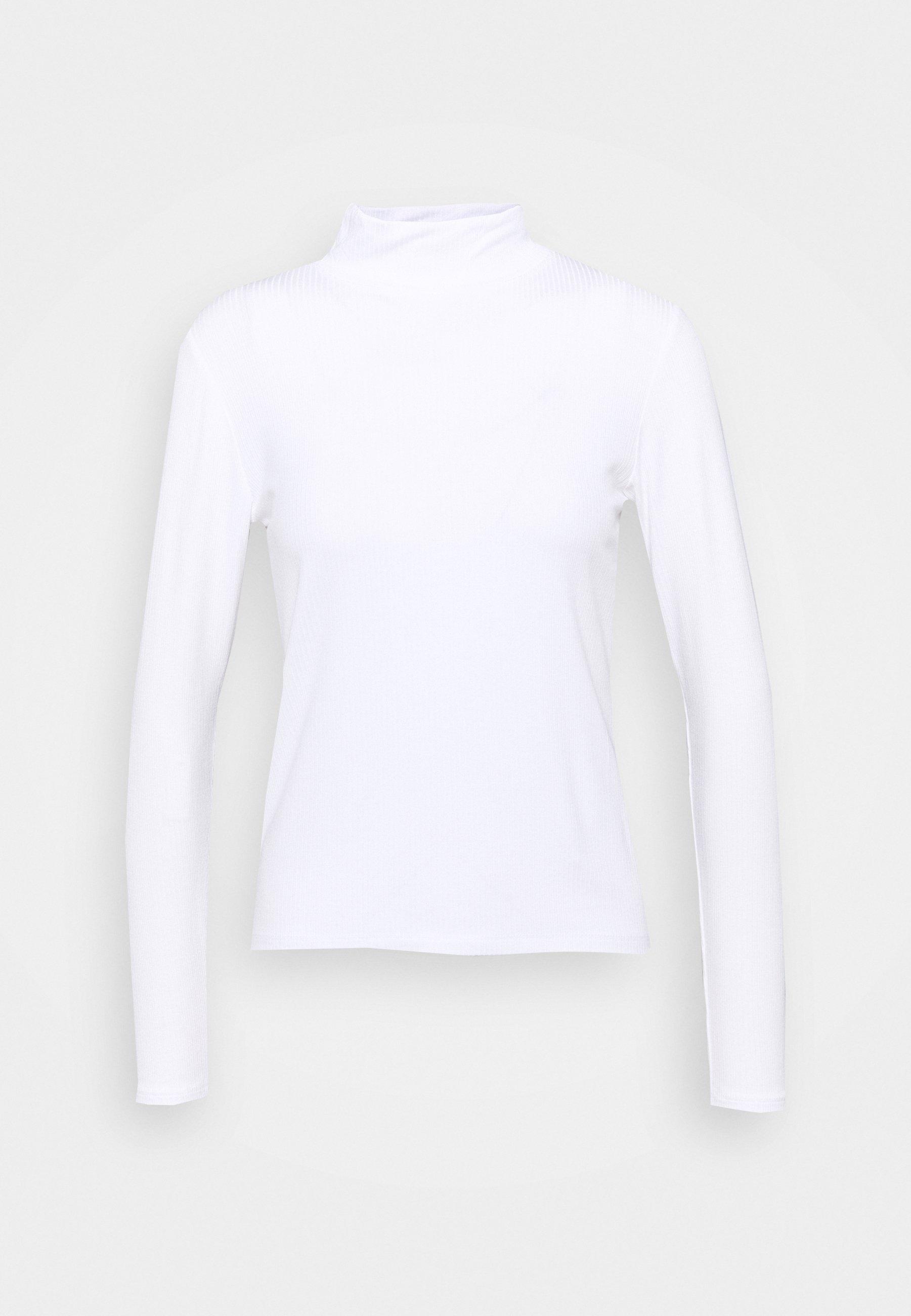 Women LONGSLEEVE SLIM MOCKNECK TEE - Long sleeved top