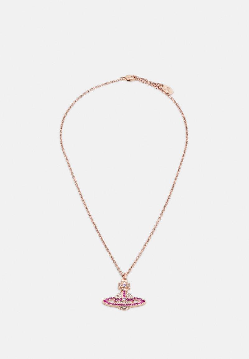 Vivienne Westwood - KIKA PENDANT - Necklace - fuchsia/violet/pink