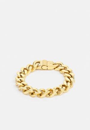 CURB PEONY UNISEX - Pulsera - gold-coloured shiny