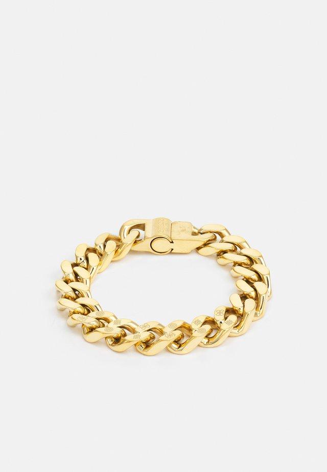 CURB PEONY UNISEX - Náramek - gold-coloured shiny