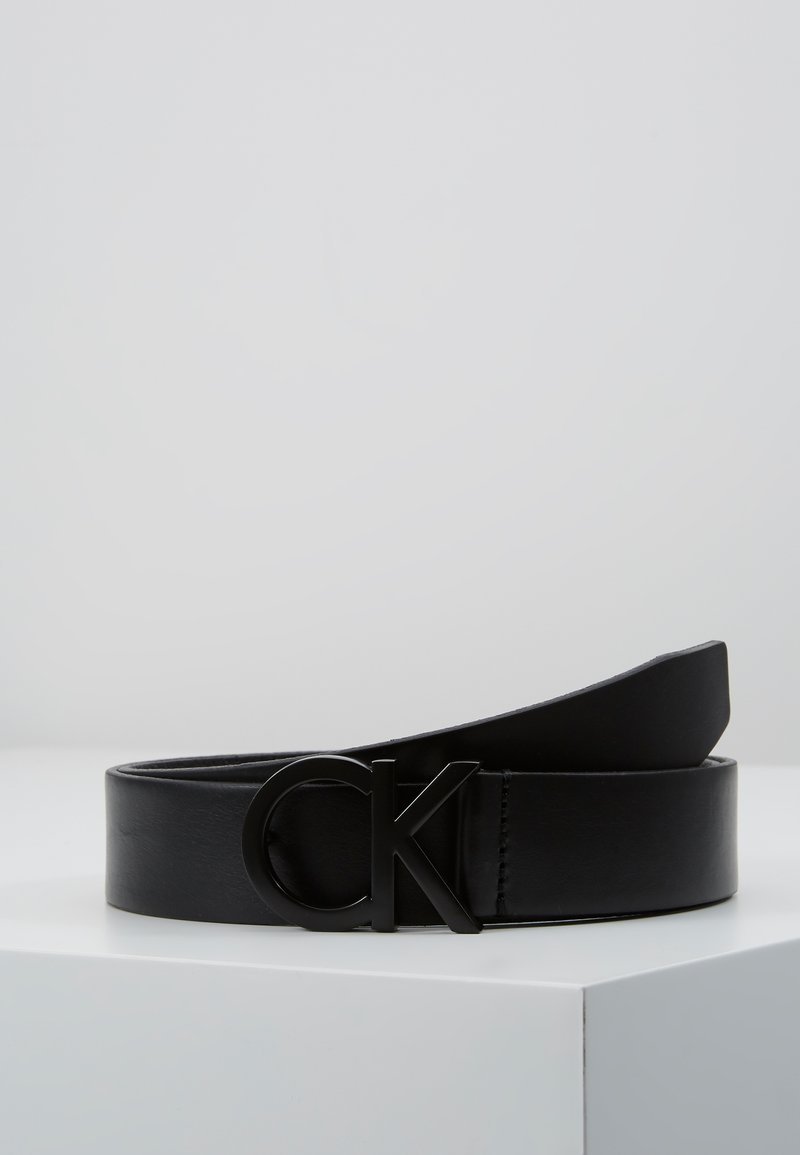 Calvin Klein - BUCKLE BELT - Belt - black