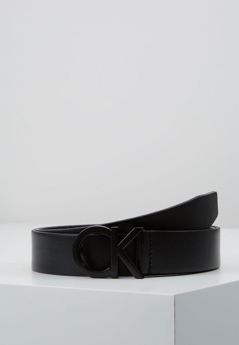 Calvin Klein - BUCKLE BELT - Pasek - black