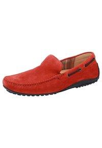 Sioux - Chaussures bateau - rot - 1