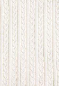 Glamorous - CROP SHORT SLEEVE JUMPER - T-shirt print - white - 2