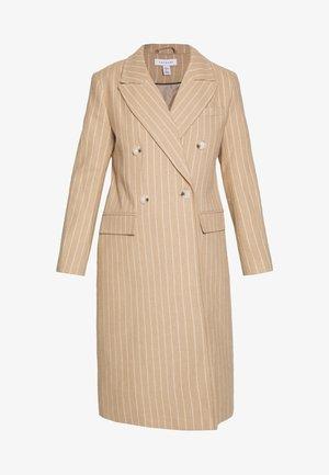 FREDDIE CHALK STRIPE - Classic coat - camel