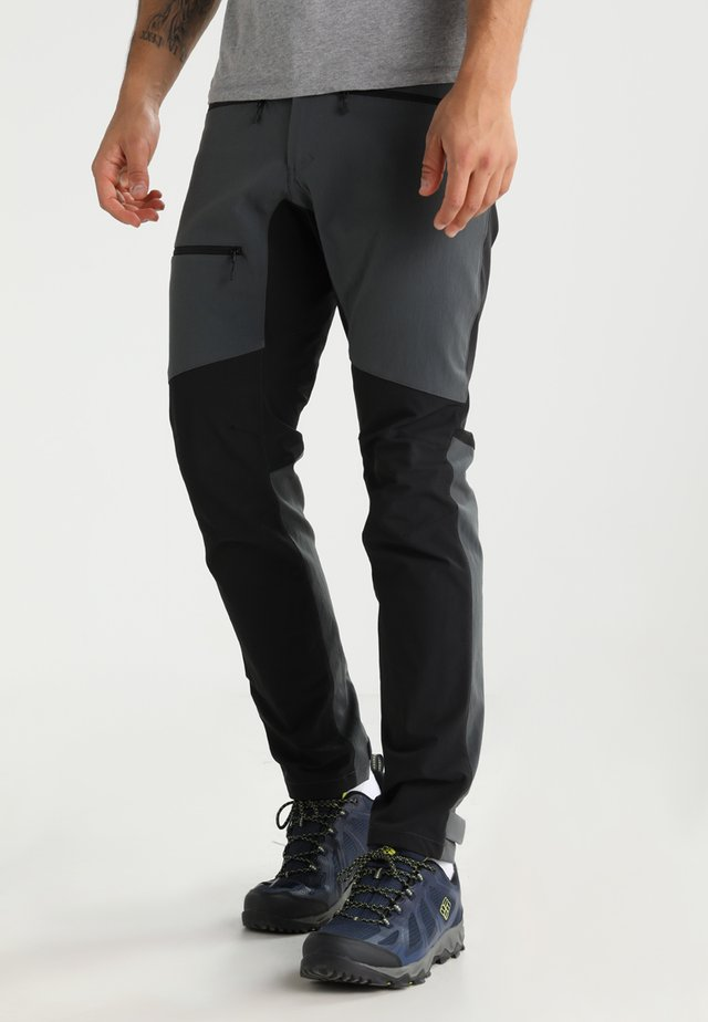 RUGGED FLEX PANT MEN - Ulkohousut - magnetite/true black