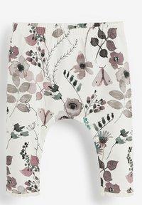 Next - 3 PACK - Leggings - Trousers - mint  light pink white - 2