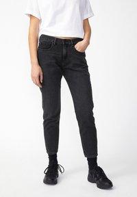 ARMEDANGELS - CAJAA - Slim fit jeans - black - 0