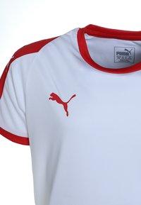 Puma - LIGA  - Sports shirt - puma white/puma red - 2