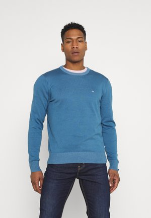 C NECK - Neule - blue