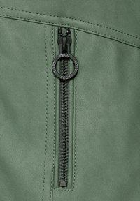 Cecil - Faux leather jacket - grün - 5