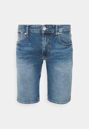 RONNIE RELAXED - Denim shorts - blue denim