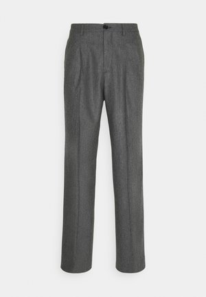 MENS TROUSER WIDE LEG - Trousers - grey