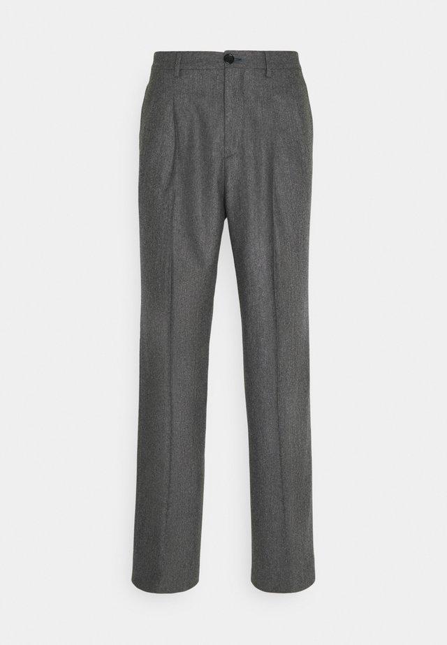 MENS TROUSER WIDE LEG - Kalhoty - grey