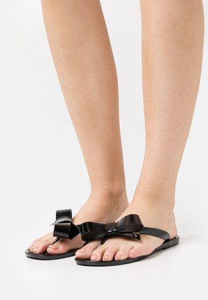 BEJOUW - T-bar sandals - black