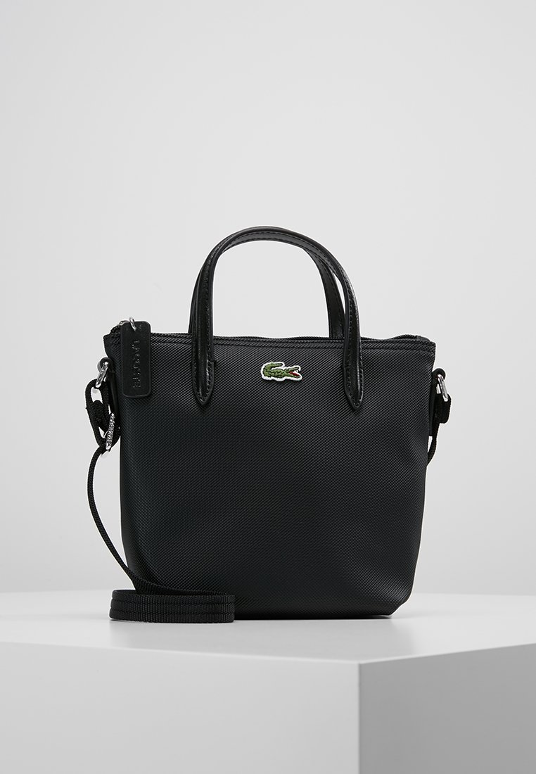 Lacoste - SHOPPING CROSS BAG - Handbag - black