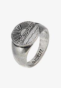 SANTIAGO SIGNET - Anillo - silver-coloured