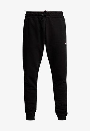 EDAN PANTS - Verryttelyhousut - black