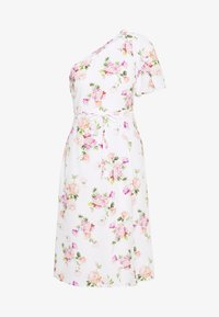 Miss Selfridge Petite - ONE SHOULDER OCCASION DRESS - Robe d'été - ivory - 0