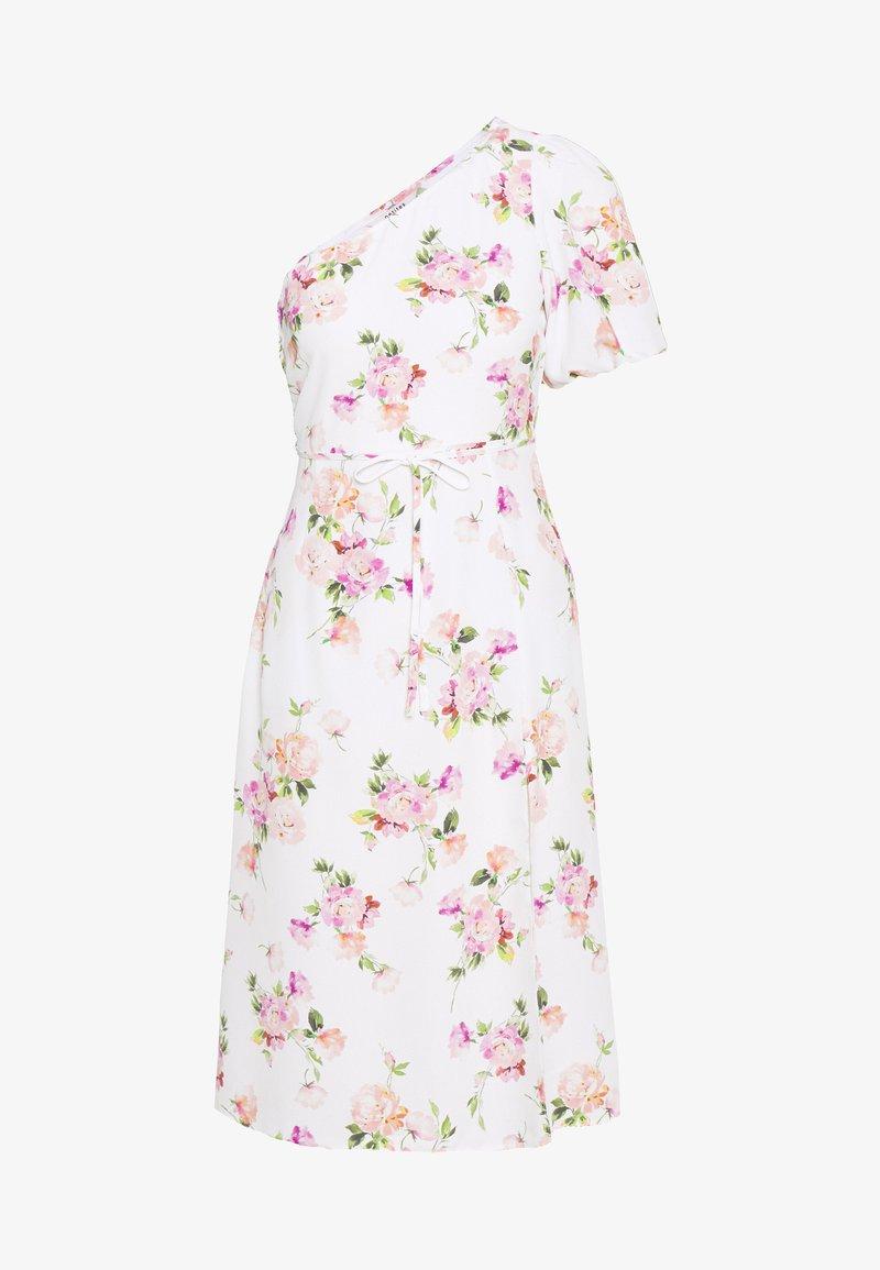 Miss Selfridge Petite - ONE SHOULDER OCCASION DRESS - Robe d'été - ivory