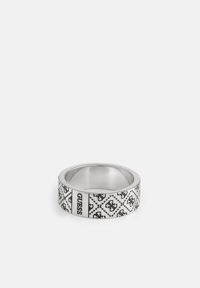 PATTERN RING - Prsten - antique silver-coloured