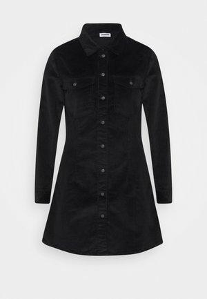 NMLISA BUTTON DRESS  - Day dress - black