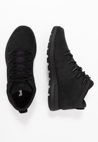 Timberland - SPRINT TREKKER MID - Bottines à lacets - black - 1