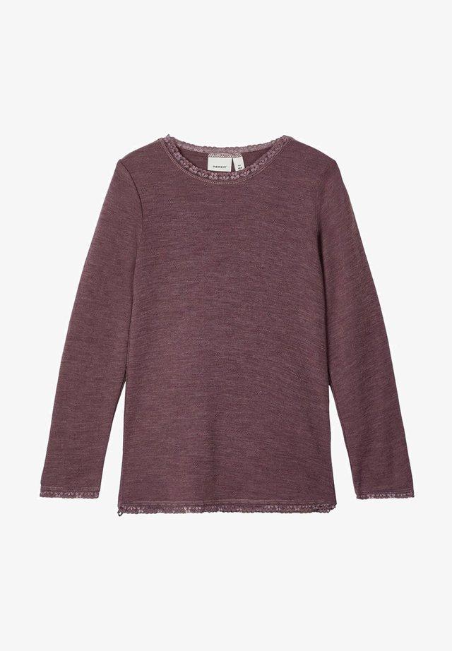 LONGSLEEVE - Long sleeved top - flint