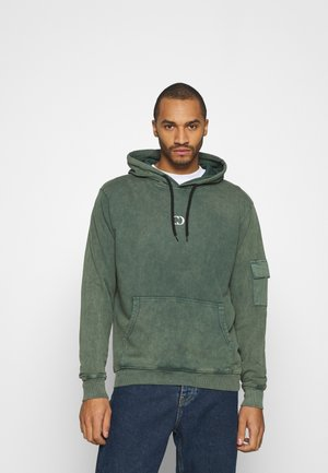 ESSENTIAL UTILITY HOOD - Hoodie - washed teal