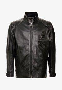 Belstaff - BIG & TALL V RACER  - Leather jacket - black - 4